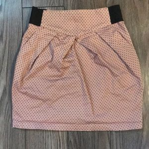 H&M Divided polka dot mini skirt Juniors 10